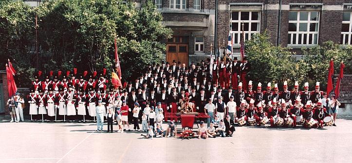 Les Francs Arquebusiers en 1985