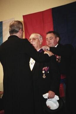 Marce Poelmans,Commandeur de l'Ordre de St Martin