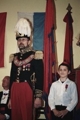 Alain Woolf et un cadet