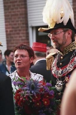 Alain Woolf, Empereur et Roy du tir, et son épouse Christine