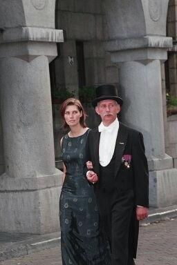 Pierrot Kinet et sa fille