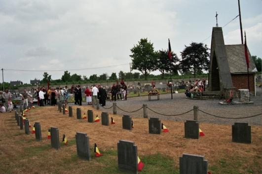 les tombes des anciens combattants de Visé