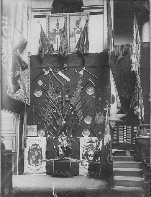 expo joyaux des gildes Liège 1900