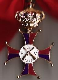 M�daille de Commandeur de l'Ordre de St Martin
