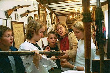 Visite du Musée des Francs Arquebusiers