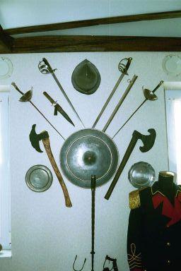 Musée des Francs Arquebusiers armes d'hast