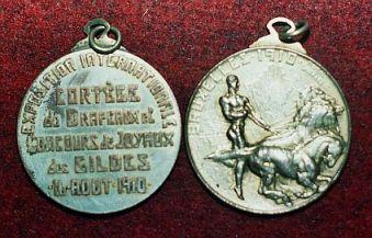 Musée des Francs Arquebusiers médailles commémoratives Bruxelles