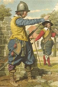 arquebusiers des 16e et 17e siècles
